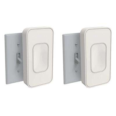 Light Switch Toggle, Ivory (2-Pack)