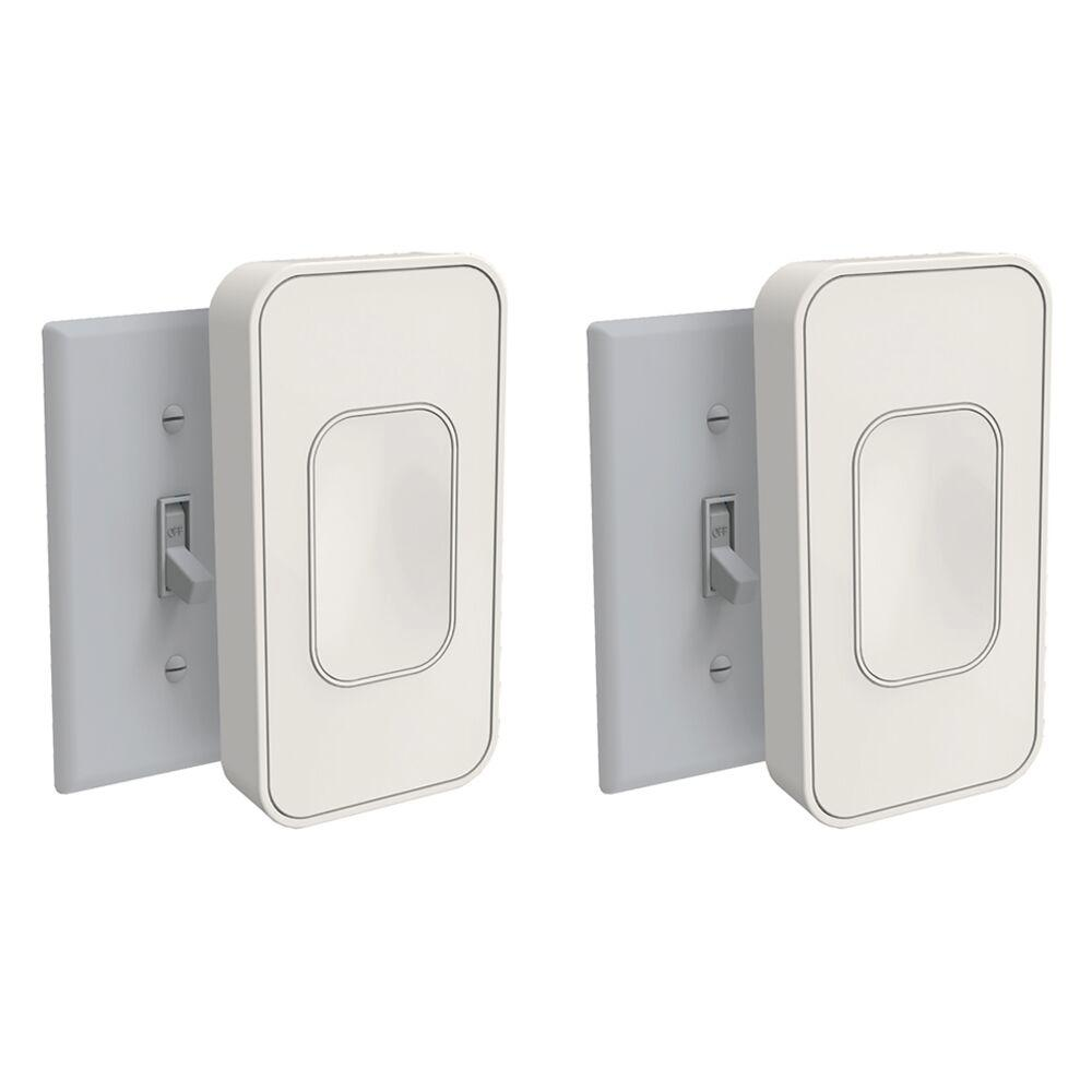 Switchmate Light Switch Interframe Media Switchmate39 Lets You Run From Your Phone Without Rewiring Toggle Ivory 2 Pack