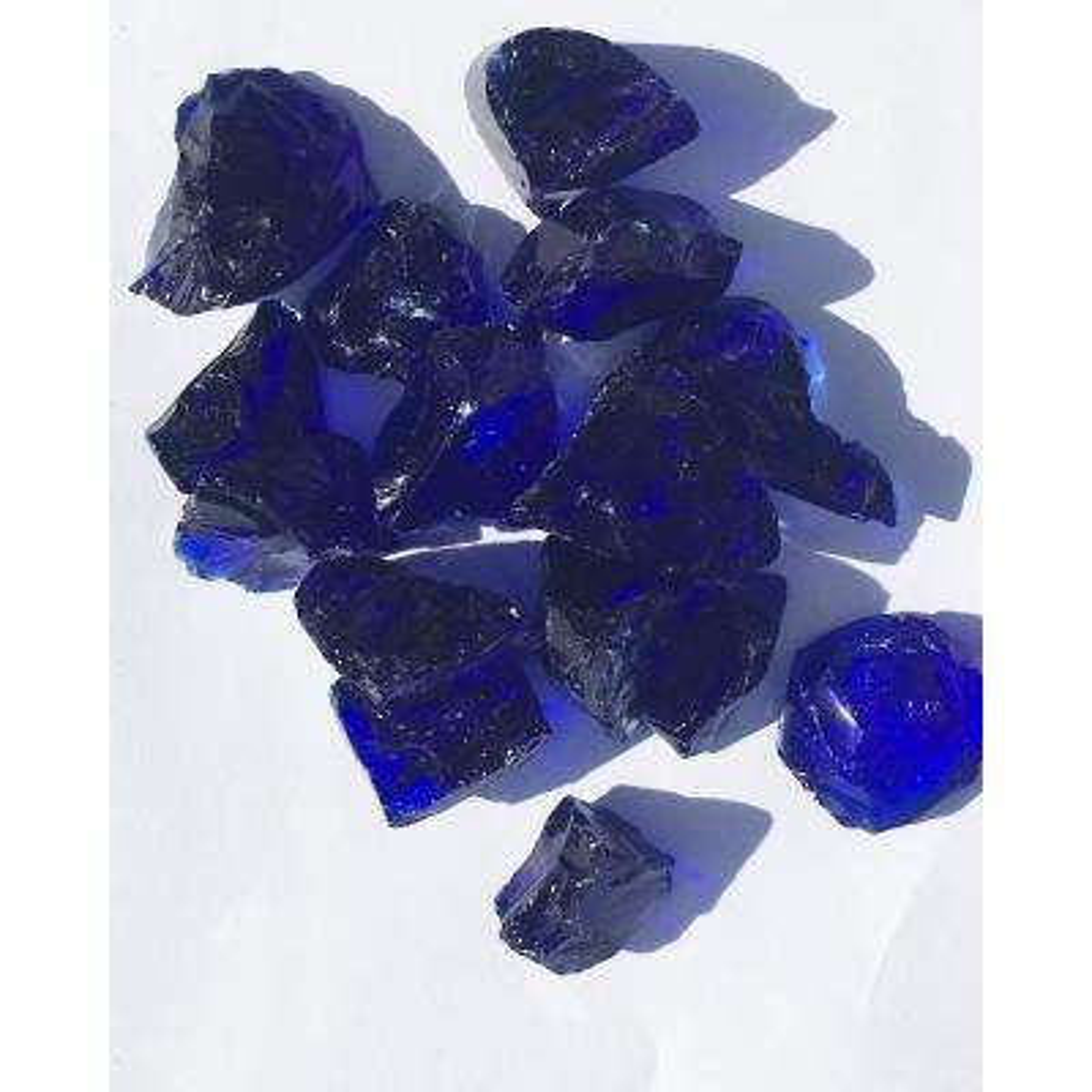 10 lbs. Royal Blue Fire Glass