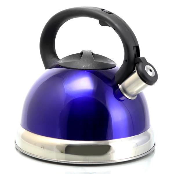 Better Chef 12 Cup Blue Stainless Steel Tea Kettle 98580469m The