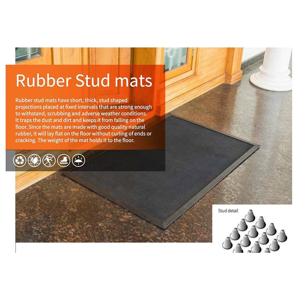 Smart Garden Indoor Outdoor Large Machine Washable Ulti-Mat Mocha