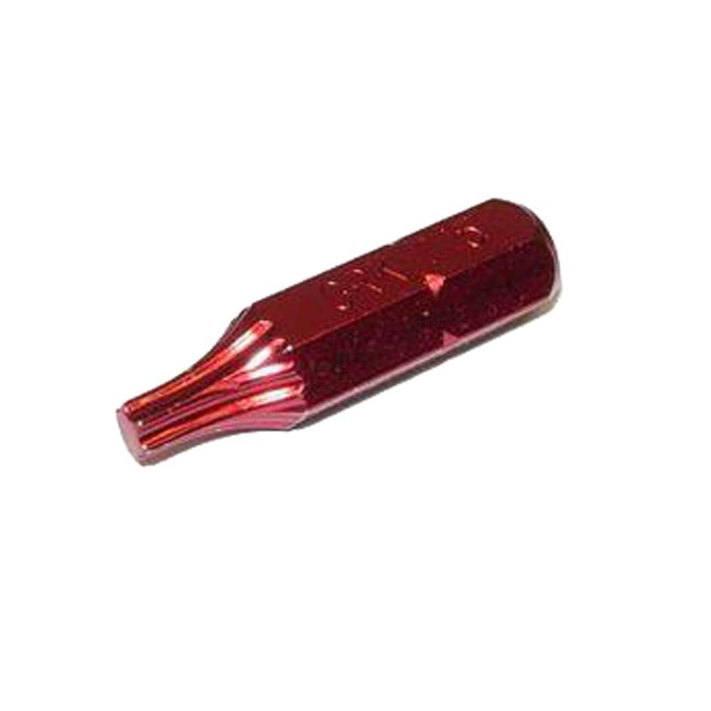 GRK Fasteners T-15 1 in. Red Bits (2-Count)-DISCONTINUED