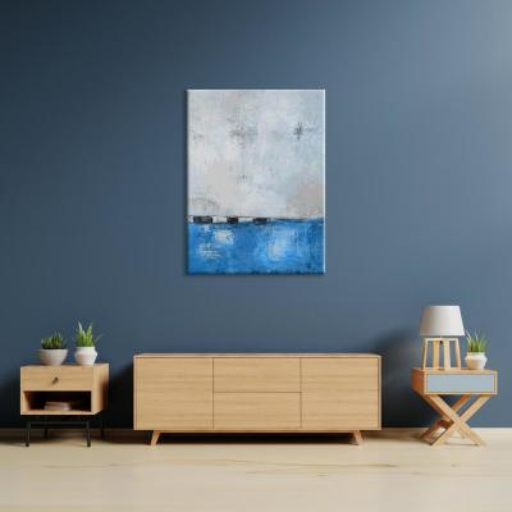 """Lochmara Lighting"" by Scott Medwetz Unframed Canvas Wall Art"