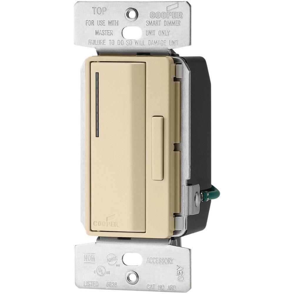 Accell 1,000-Watt Single Pole Smart Dimmer, White