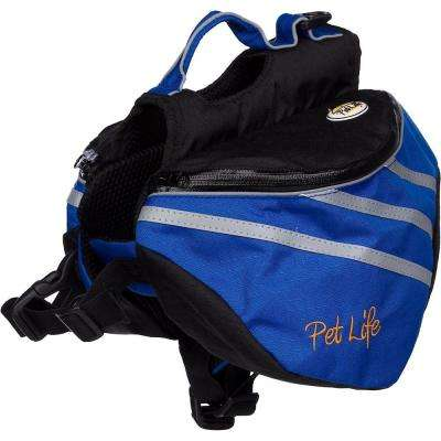 Large Blue Everest Pet Backpack