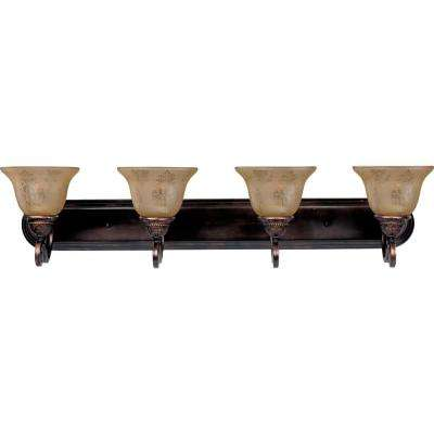 Symphony 4-Light Oil-Rubbed Bronze Bath Vanity Light