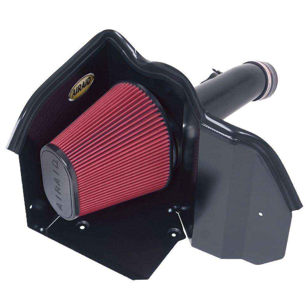 07-14 Toyota Tundra/Sequoia 4.6L/5.7L V8 CAD Intake System w/ Tube (Dry / Red Media)