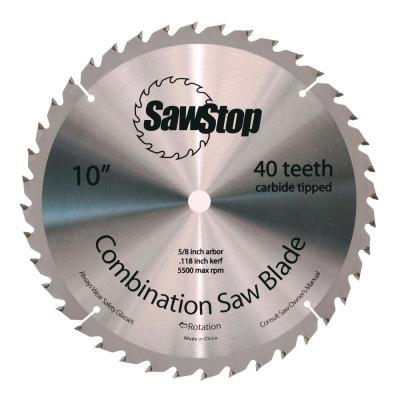 40 Tooth Combination Table Saw Blade