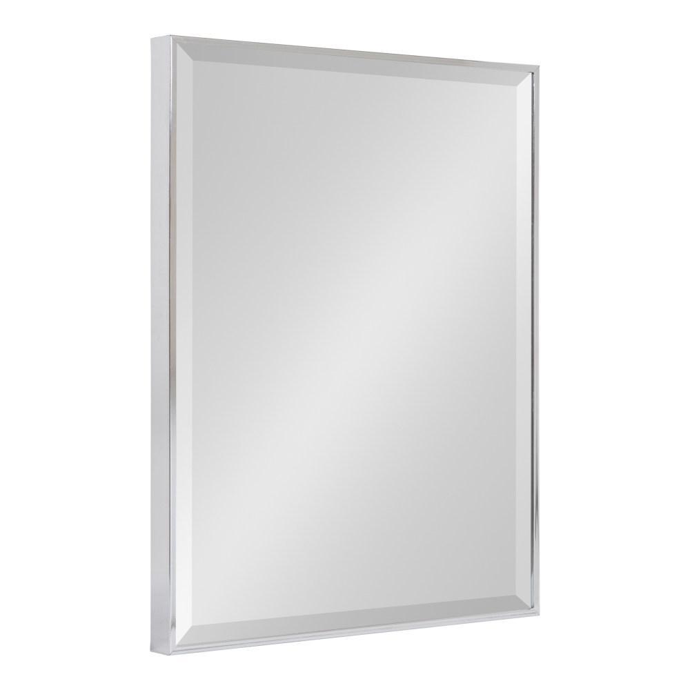 Rhodes Rectangle Silver Wall Mirror