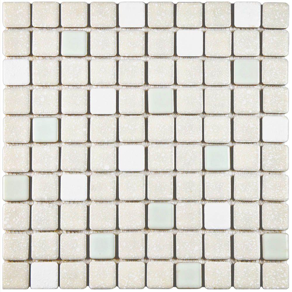 Crystalline Square Pistachio 11-3/4 in. x 11-3/4 in. x 5 mm
