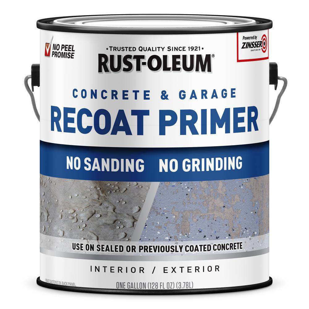 Rust-Oleum 1 gal. Concrete and Garage Interior/Exterior Recoat Primer (2-Pack)