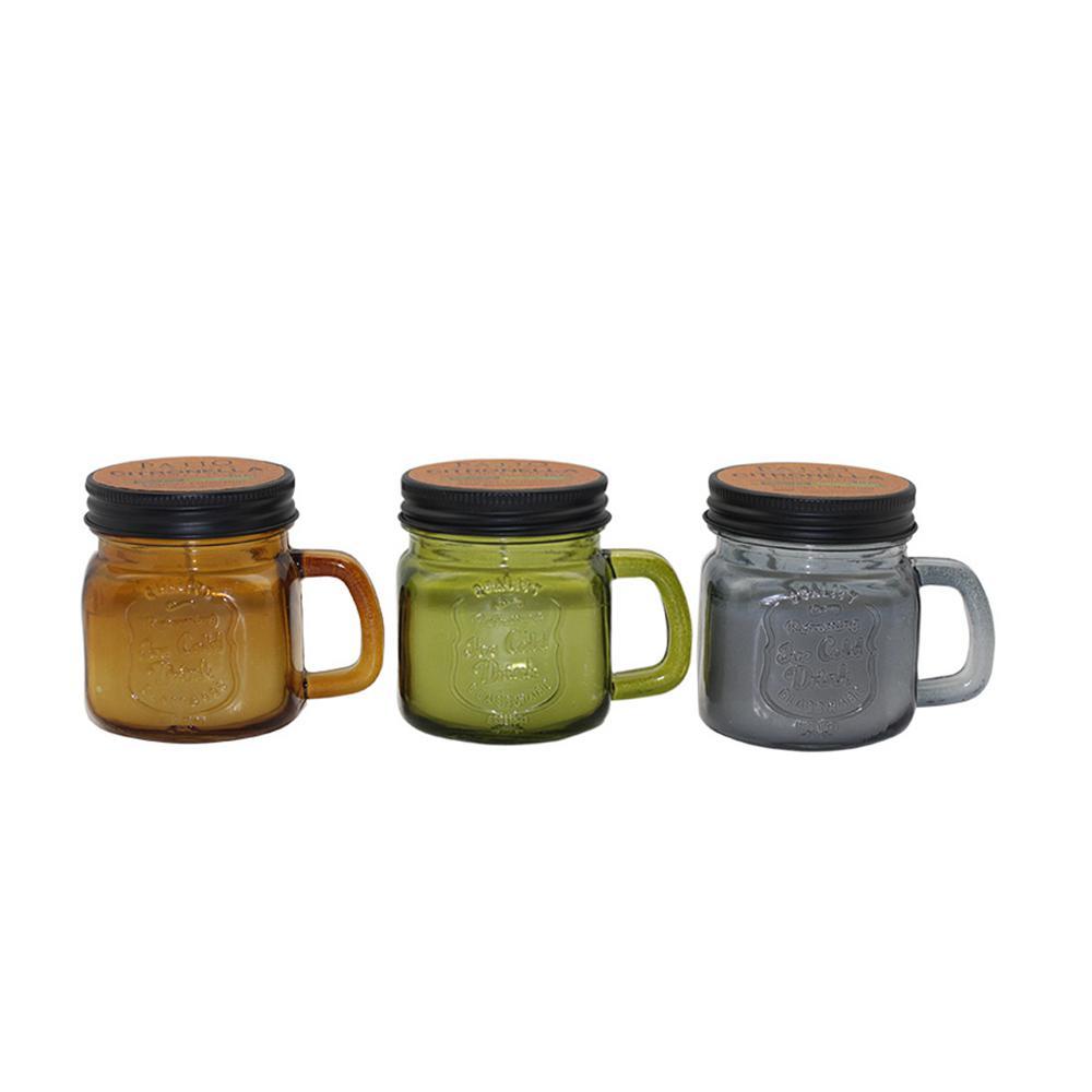 5 oz. Citronella Mini Glass Mason Jar Candle