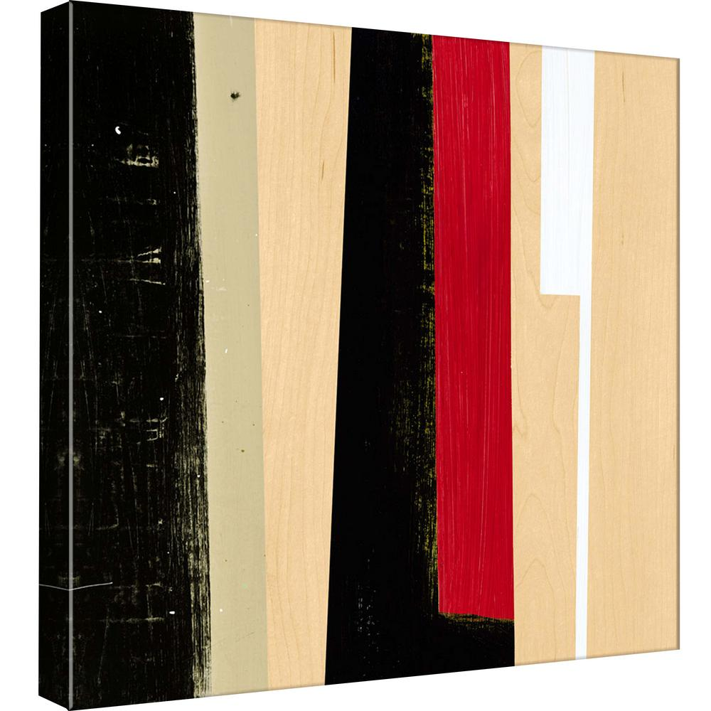 PTM Images 15.in x 15.in \'\'Geometric Stripes III\'\' Printed Canvas ...
