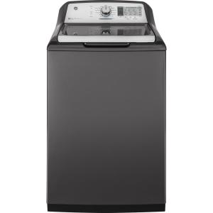 5.0 cu. ft. High-Efficiency Diamond Gray Top Load Washing Machine and Wifi Connected with SmartDispense, ENERGY STAR