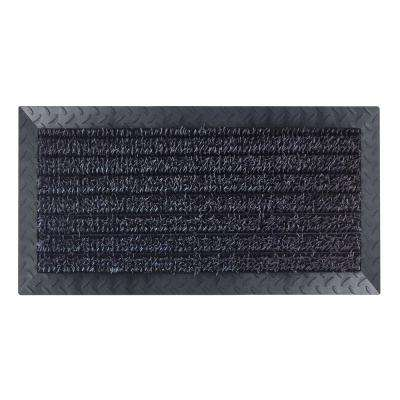 Ultimate Garage Flint Multi Scraper 18 in. x 34 in. Door Mat