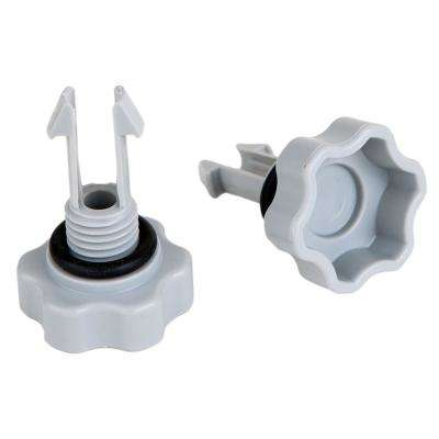Set of Air Release Valves with O-Rings for Pool Filter Pumps (4-Pack)