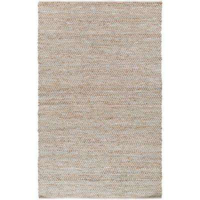 Caripito Aqua 4 ft. x 6 ft. Indoor Area Rug