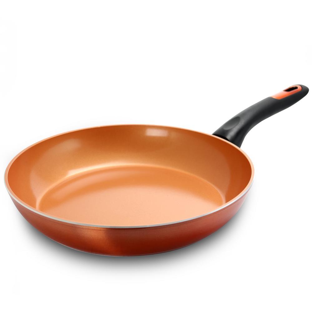 Hummington Forged Aluminum Frying Pan with Bakelite Handle