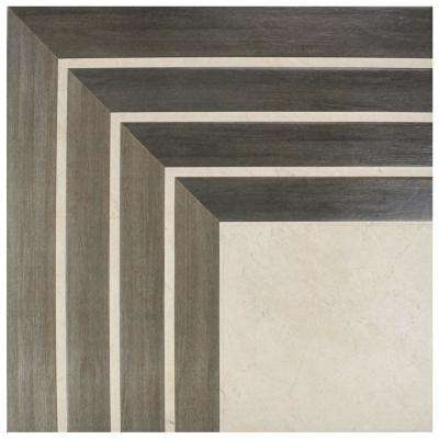 Arista Jet Noce 17-3/4 in. x 17-3/4 in. Ceramic Floor and Wall Tile (382.5 sq. ft. / pallet)