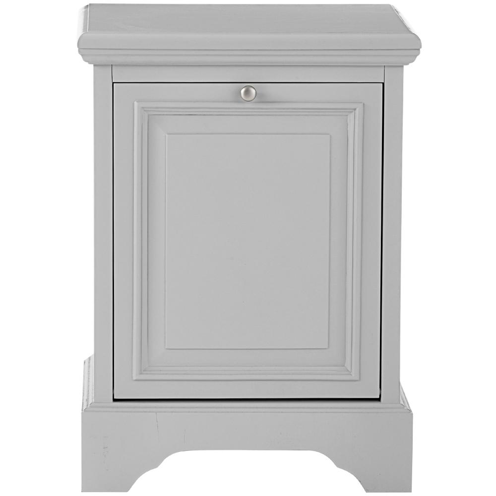 Sadie Laundry Hamper in Dove Grey