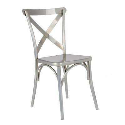 Modern Metal Dining Chair Kitchen Dining Room Furniture