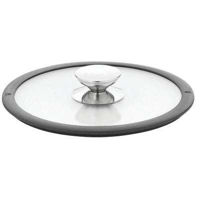 Berndes Glass Clear Lid with Silicone Black rim