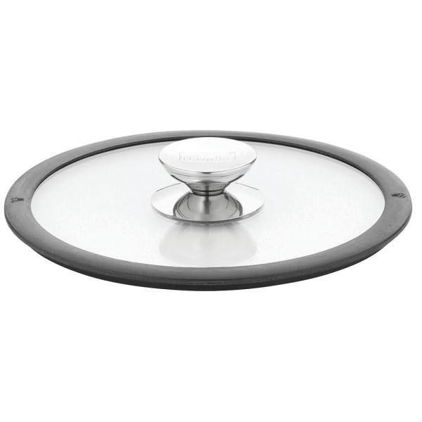 Berndes Glass Clear Lid with Silicone Black rim 007576