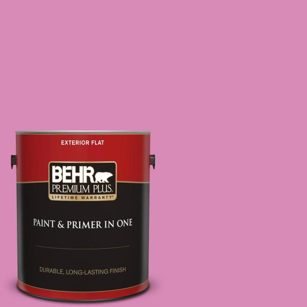 Reviews For Behr Premium Plus 1 Gal P120 3 High Maintenance Flat Exterior Paint And Primer In One 440001 The Home Depot