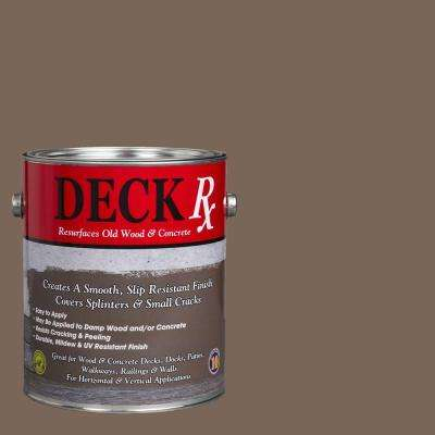 Deck Rx 1 gal. Flannel Wood and Concrete Exterior Resurfacer