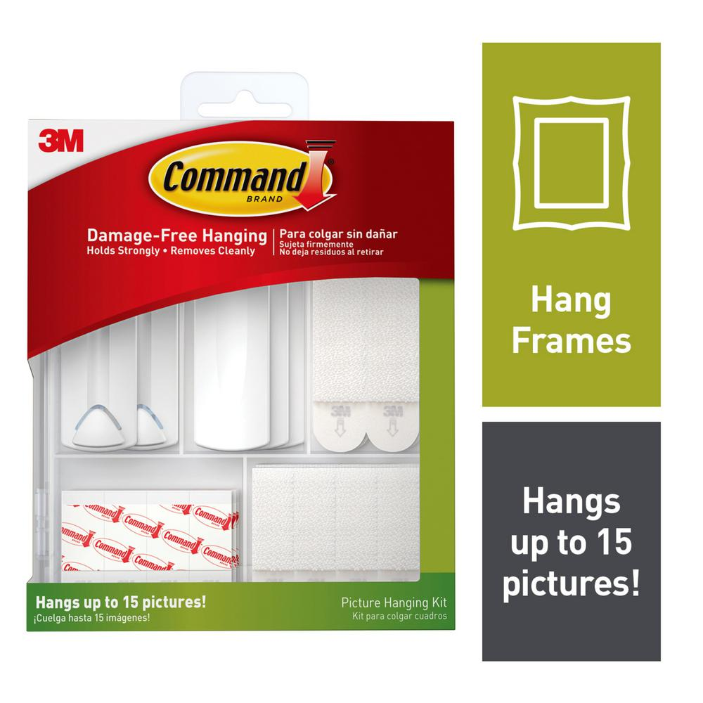 Command Picture Hanging Kit 17213 Es The Home Depot