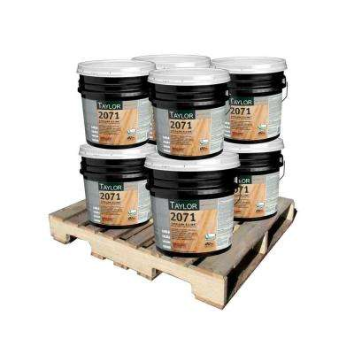 2071 4 Gal. Tuff-Lok X-Link Wood Flooring Adhesive with Meta-Tec Technology (8-Pallet)