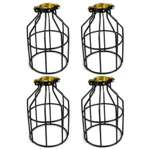 Adamax Metal Lamp Guard for String Light and Lampholder (4-Pack) by Adamax