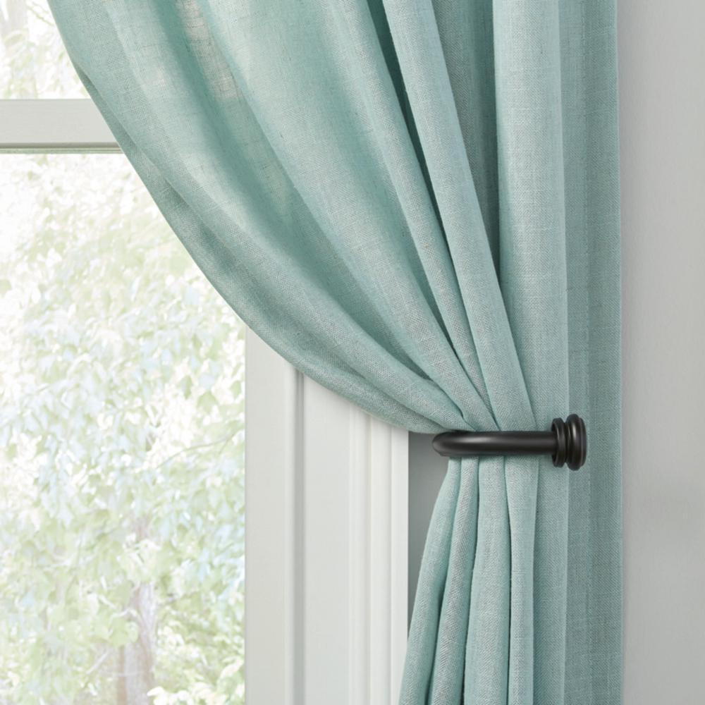 Curtain Holdbacks Tie Backs Curtain Hardware The Home Depot