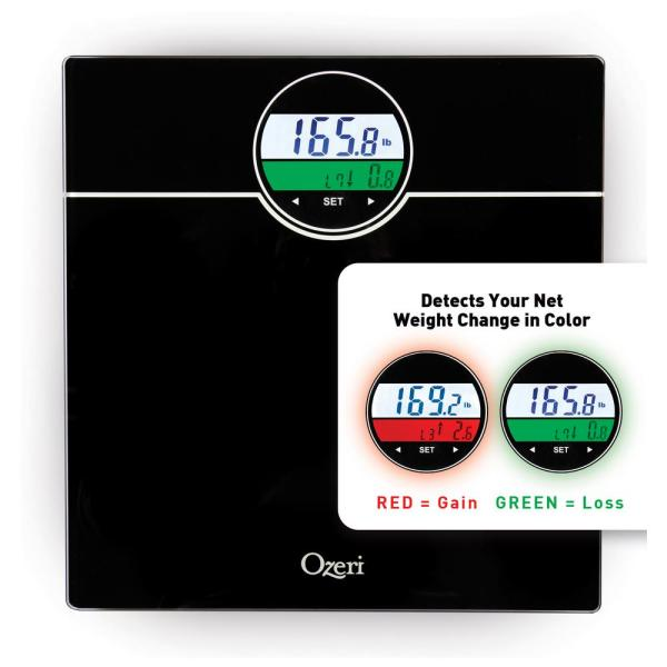 WeightMaster 400 lbs. Digital Bath Scale with BMI and Weight Change Detection