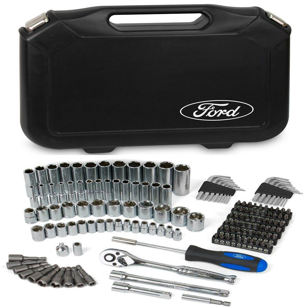 6 Point Socket Set  1//4″ Britool Hallmark MHSET14 14 Piece 3//8″ Dr 1″ AF –...