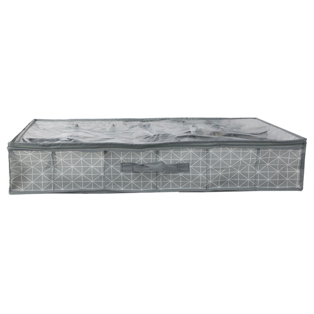 Home Basics 12 Pair Shoe Underbed Storage (Set of 2) SB49915