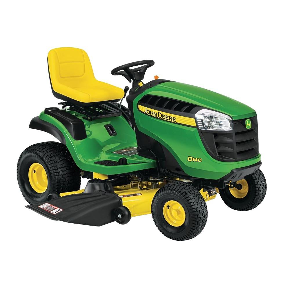 John Deere D140 48 in. 22 HP V-Twin Hydrostatic Front-Engine Riding Mower