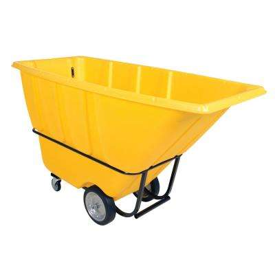 1 cu. yds. Heavy Duty Tilt Truck - Yellow