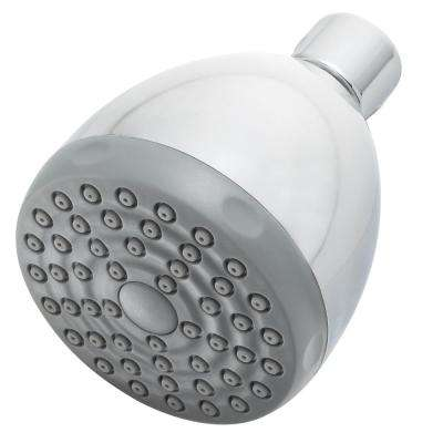 Commercial 1-Spray 2.75 in. Fixed Shower Head in Polished Chrome