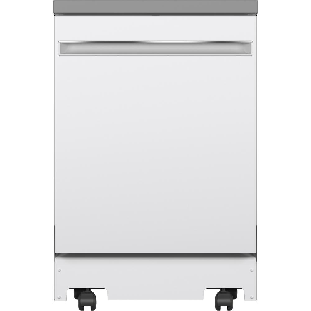 Portable Dishwasher in White with 12 Place Settings Capacity, 54 dBA