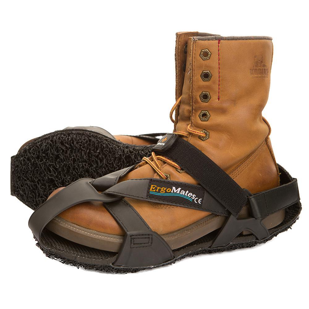 X-Large Men's Size 13-15 Black Ergomate Anti-Fatigue Overshoes