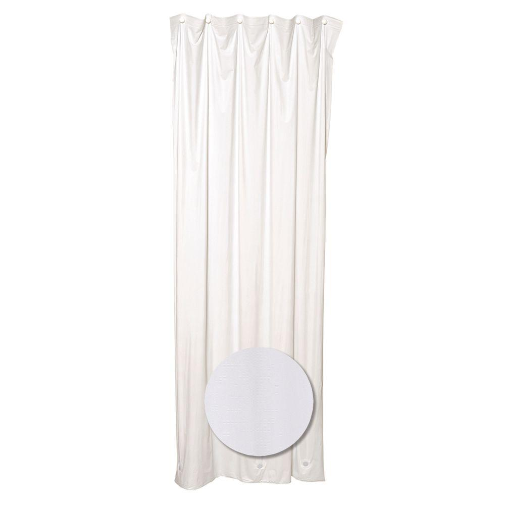 36 in. W x 78 in. Stall Shower Liner Vinyl in