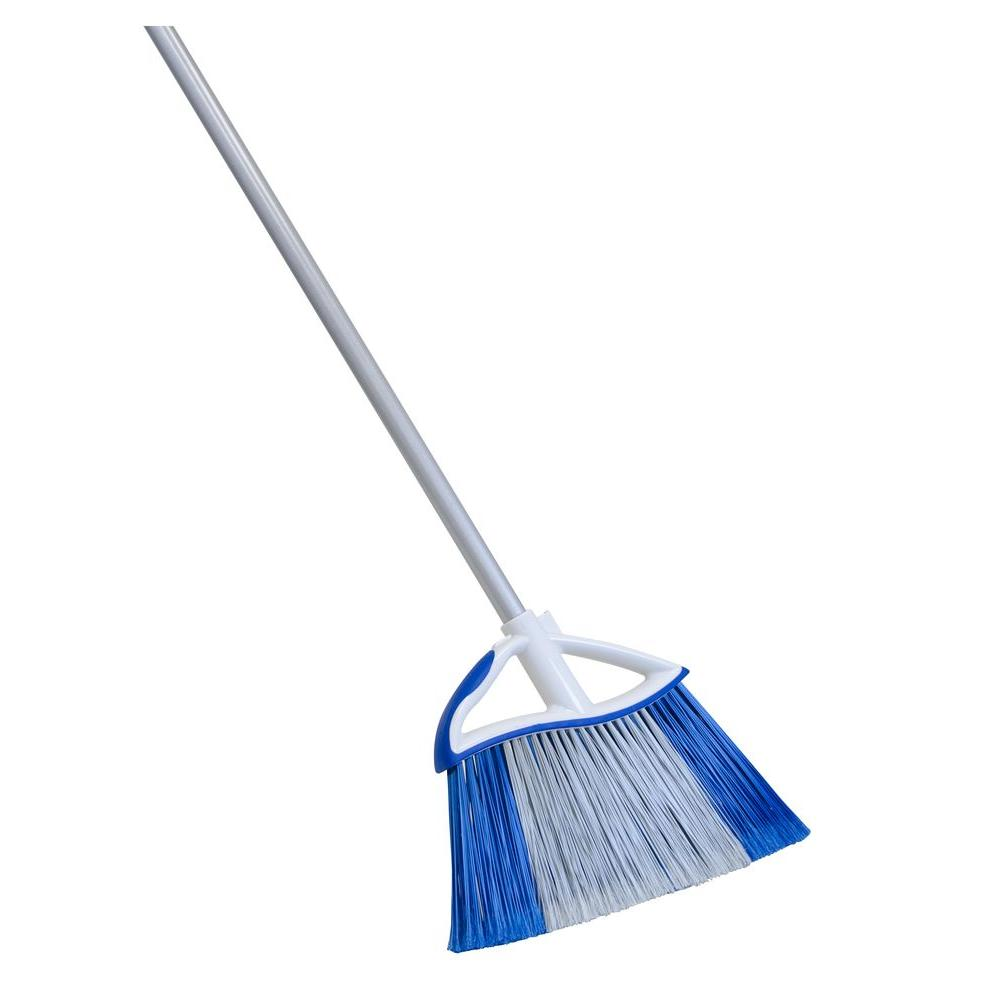 Quickie Dual Action Large Angle Broom-727351 - The Home Depot