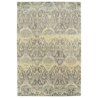Mercery Grey 8 ft. x 11 ft. Area Rug