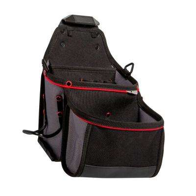 6-Pocket Contractor Tool Pouch with Hammer Loop