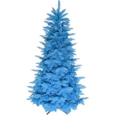 6.5 ft. Turquoise Artificial Christmas Tree