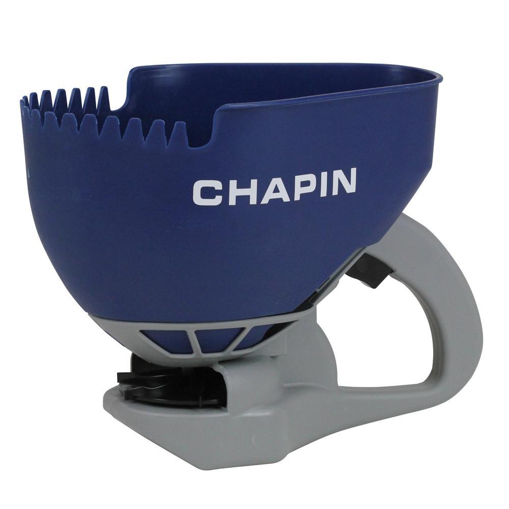 Chapin 0 8 Gal 3 L Hand Crank Salt Spreader 8705a The Home Depot