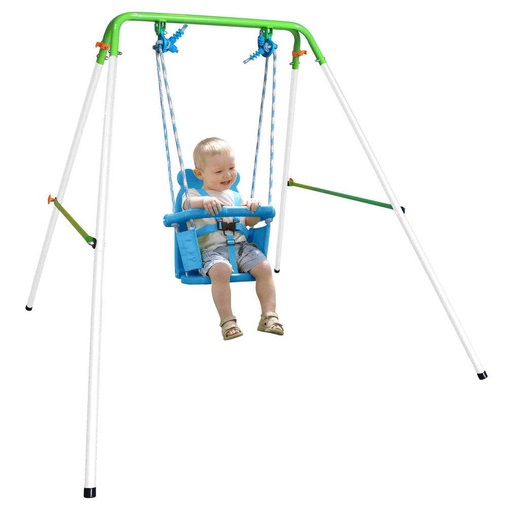 Sportspower My First Toddler Swing Fns 001 The Home Depot