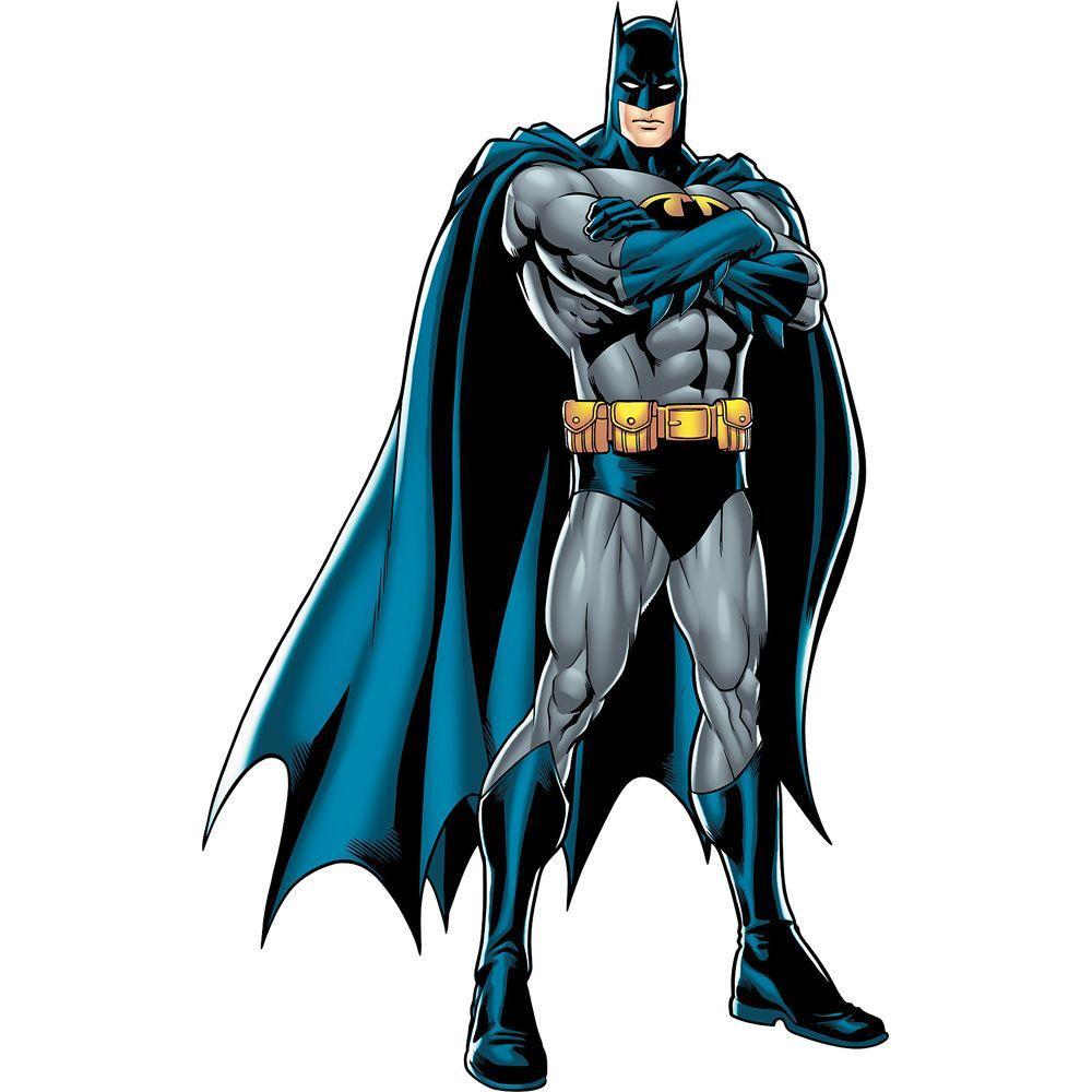 Fathead 48 in. x 77 in. Batman Justice League Wall Decal