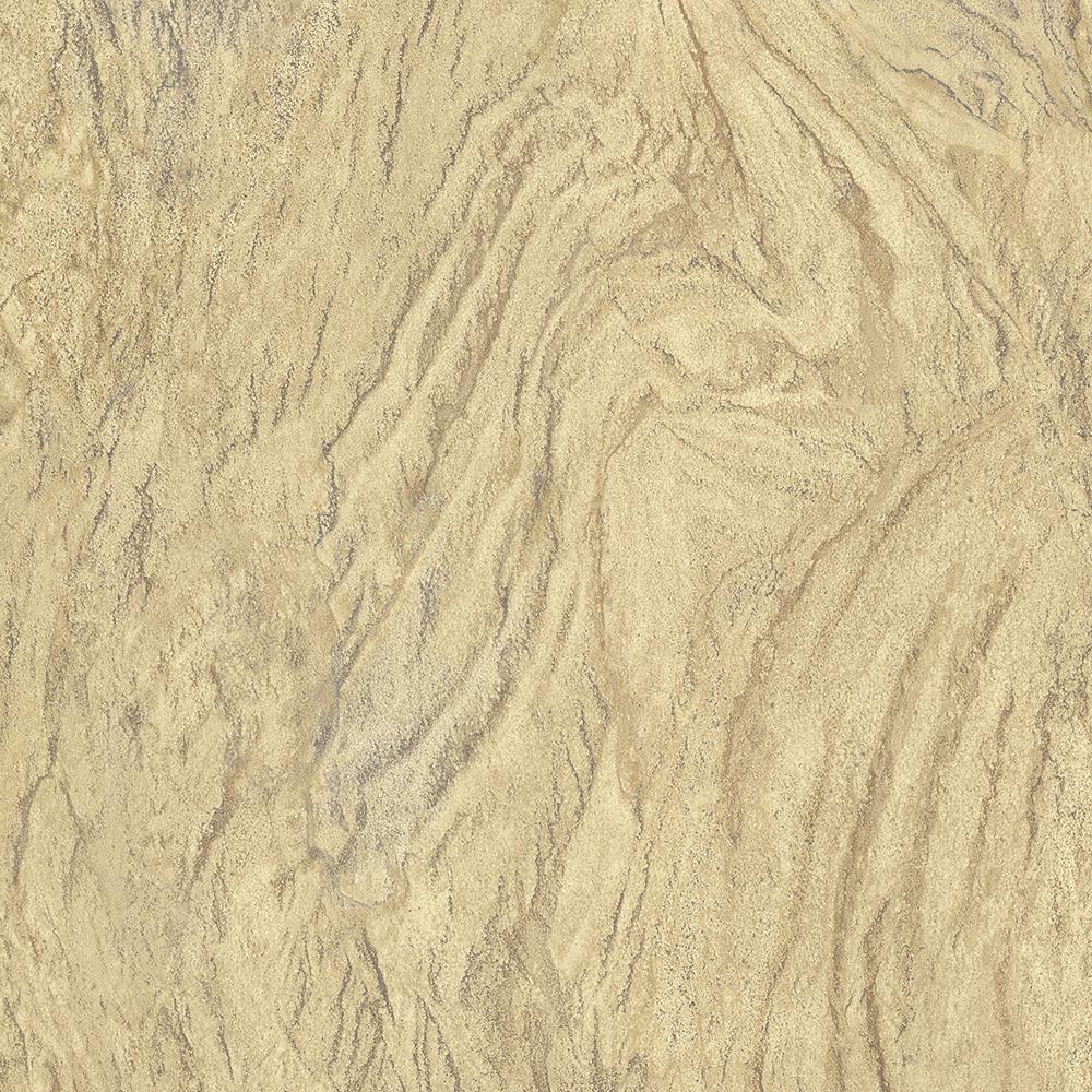 56.4 sq. ft. Wasatch Khaki Marble Wallpaper
